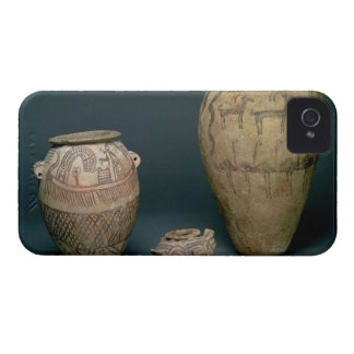 Vase decorated with various friezes of animals and iPhone 4 Case-Mate cases