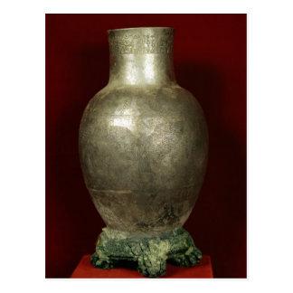 Vase dedicated by Entemena to the god Nigirsu Postcard