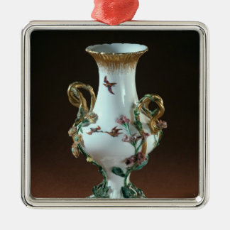 Vase Duplessis' with gold decoration