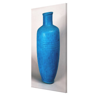 Vase in the form of a straight necked bottle canvas print