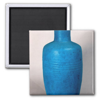 Vase in the form of a straight necked bottle refrigerator magnet