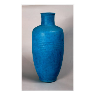 Vase in the form of a straight necked bottle posters