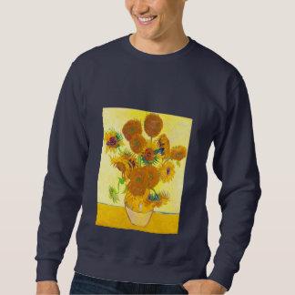 Vase of Fifteen Sunflowers, Van Gogh Sweatshirt