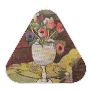 Vase of Flowers, Anemones in a White Glass