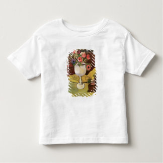 Vase of Flowers, Anemones in a White Glass Tee Shirt