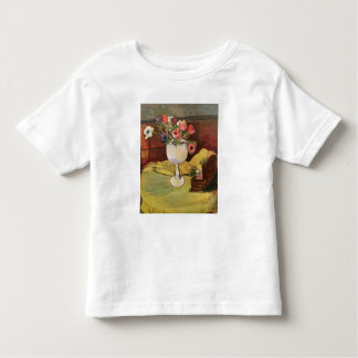 Vase of Flowers, Anemones in a White Glass Toddler T-Shirt