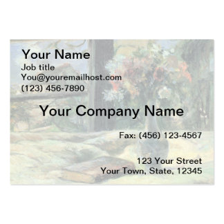 Vase of Flowers at the Window - 1881 Business Card Templates