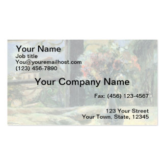 Vase of Flowers at the Window - 1881 Business Card Template