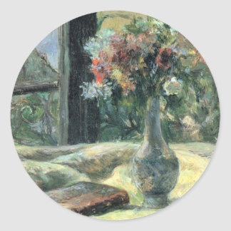 Vase of Flowers at the Window - 1881 Stickers