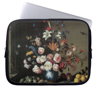 Vase of Flowers by a Window, Balthasar van der Ast Computer Sleeve