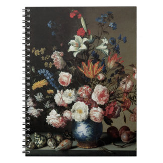 Vase of Flowers by a Window, Balthasar van der Ast Note Book