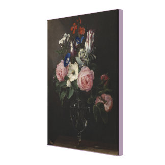 Vase of Flowers by Jan Brueghel the Elder Canvas Print