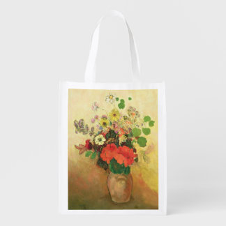 Vase of Flowers, c.1908-10 (oil on canvas) Grocery Bag