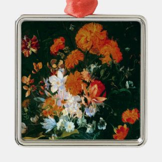 Vase of Flowers Christmas Ornament