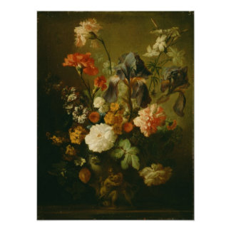 Vase of Flowers II Poster