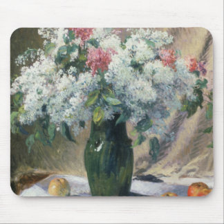 Vase of flowers mouse mat