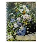 Vase of Flowers Notebook
