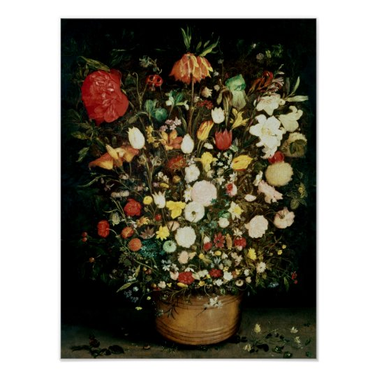Vase of Flowers Poster