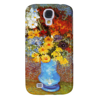 Vase of Flowers, Van Gogh Galaxy S4 Case