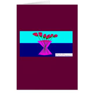 vase of joy card