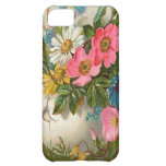 Vase of Pink, White and Blue Flowers iPhone 5C Case