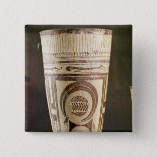 Vase, Style I, from Susa, Iran, 5000-4000 BC 15 Cm Square Badge