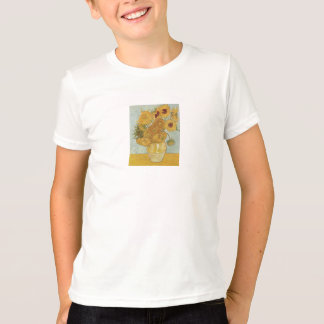 Vase with 12 Sunflowers by Vincent Van Gogh Tee Shirts