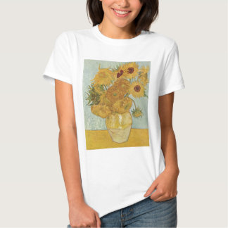 Vase with 12 Sunflowers Tshirts