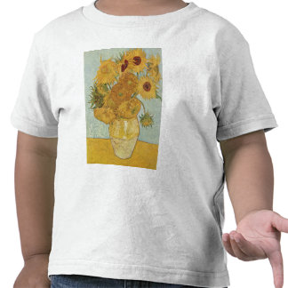 Vase with 12 Sunflowers - Vincent Van Gogh 1888 Tshirt
