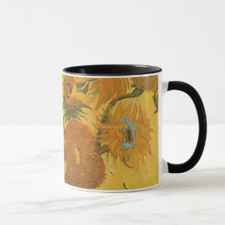 Vase with 15 Sunflowers by Vincent van Gogh