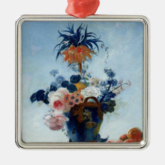 Vase with Flowers Christmas Ornament