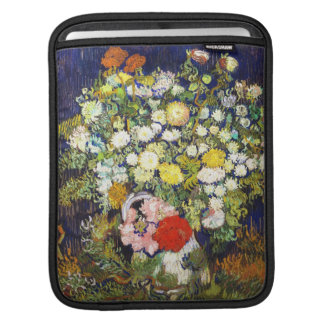 Vase with Flowers Vincent van Gogh fine art iPad Sleeves