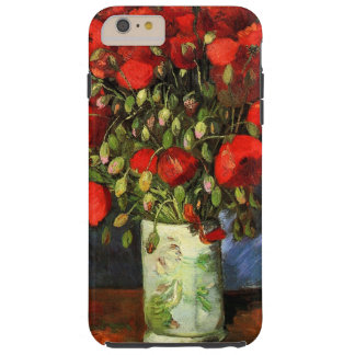 Vase with Red Poppies Van Gogh Fine Art Tough iPhone 6 Plus Case