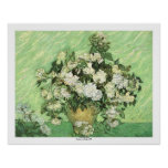 Vase with Roses by Vincent van Gogh Posters