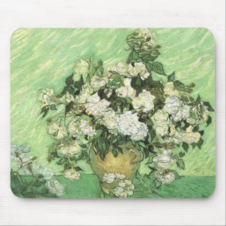 Vase with Roses, Vincent van Gogh 1890 Mouse Mat