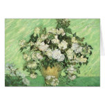 Vase with Roses Vincent van Gogh Cards