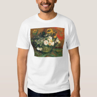 """""""Vase with Sunflowers, Roses and Other Flowers"""" Tee Shirts"""