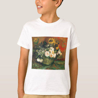"""Vase with Sunflowers, Roses and Other Flowers"" Tshirt"