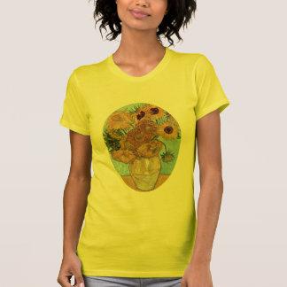 Vase with Twelve Sunflowers by Van Gogh T-Shirt