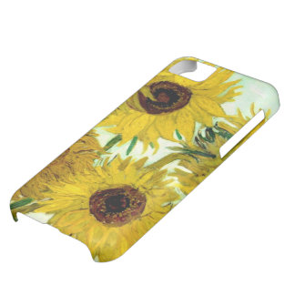 Vase with Twelve Sunflowers, Van Gogh Fine Art iPhone 5C Case