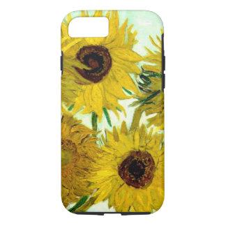 Vase with Twelve Sunflowers, Van Gogh Fine Art iPhone 8/7 Case