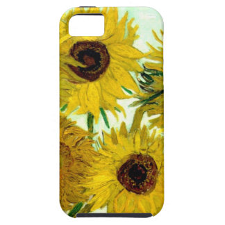 Vase with Twelve Sunflowers, Van Gogh Fine Art Tough iPhone 5 Case