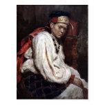 Vasily Surikov-Model in ancient russian costume
