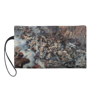 Vasily Surikov:The Conquest of Siberia by Yermak Wristlet Purses