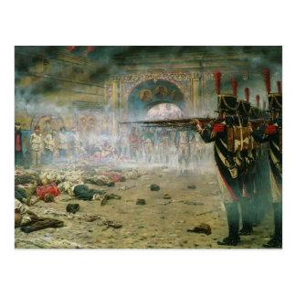 Vasily Vereshchagin- In Defeated Moscow Postcard