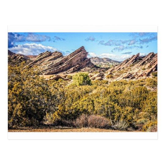 Vasquez Rocks Approach Postcard