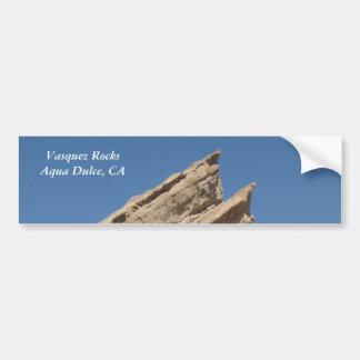 Vasquez Rocks, Aqua Dulce, California Bumper Sticker