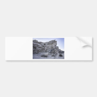 Vasquez Rocks at Sunset Car Bumper Sticker