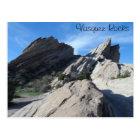 Vasquez Rocks, California Postcard