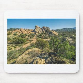 Vasquez Rocks View Mouse Pad